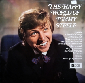 Tommy Steele ‎– The Happy World Of Tommy Steele   , Płyta winylowa Decca ‎– SPA 24 Vinyl, LP, Compilation, Stereo