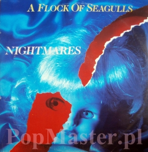 A FLOCK OF SEAGULLS  NIGHTMARES  JIVE T 33 45RPM 12""