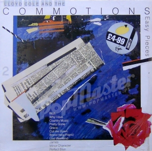 Lloyd Cole And The Commotions Easy Pieces  LCLP 2