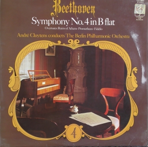 Vinyl Beethoven / André Cluytens, The Berlin Philharmonic Orchestra ‎– Symphony No. 4 In B Flat Classics For Pleasure ‎– CFP 40001