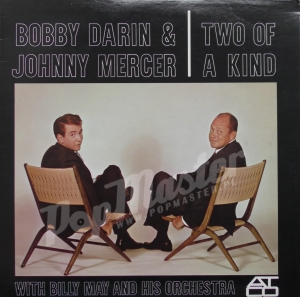 Bobby Darin & Johnny Mercer With Billy May & His Orchestra Two Of A Kind 90484-1-Y Jazz, Pop Winyle