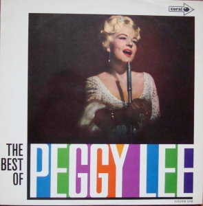 Peggy Lee ‎– The Best Of Peggy Lee - Vol.1 CPS 25 Jazz ,Swing   Płyty Winylowe