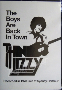 Thin Lizzy The Boys Are Back Town Recorded In 1978 Live At Sydney Harbour 5034741238915