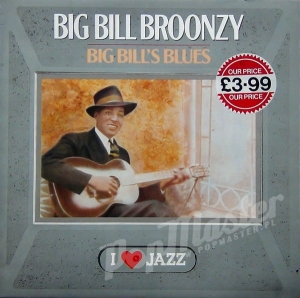 Big Bill Broonzy Big Bill's Blues CBS 21122 I ❤️ Jazz Series