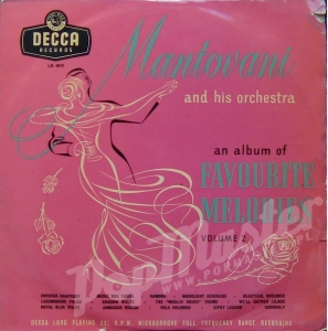 MANTOVANI AND HIS ORCHESTRA FAVOURITE MELODIES VOLUME 2  LK 4079
