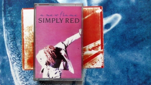 Simply Red ‎– A New Flame  WEA ‎– WX 242C Cassette, Album