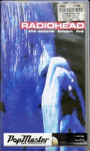 Radiohead The Astoria London Live MVP 491 4183 VHS Cassette