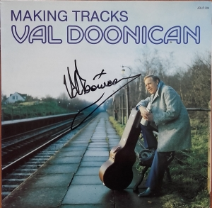 Val Doonican ‎– Making Tracks JBLP 304  z  Autografem   Pop, Folk, World, & Country