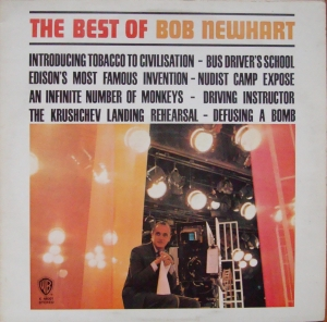 Bob Newhart ‎– The Best Of Bob Newhart K 46001,W 1134 Non-Music,Comedy, Spoken Word  Vinyl Records