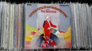 Arthur Fiedler And The Boston Pops ‎– Play The Beatles  RCA ‎– INTS 1165 Vinyl, LP