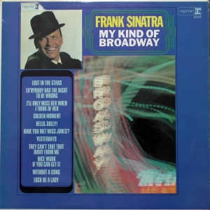 Frank Sinatra ‎– My Kind Of Broadway Reprise Records ‎– R9-1015  First or early UK pressing.