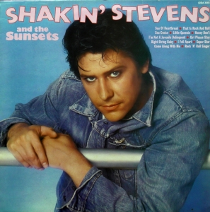 Shakin' Stevens And The Sunsets ‎– Shakin' Stevens And The Sunsets Hallmark Records ‎– SHM 3065