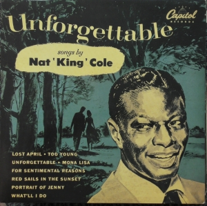 Nat King Cole ‎– Unforgettable Capitol Records ‎– EMS 1100