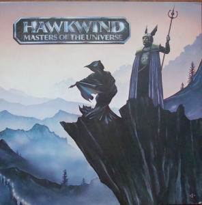 Hawkwind ‎– Masters Of The Universe EMS 1258 A-1 / B-1  Rock