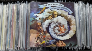 The Moody Blues ‎– A Question Of Balance Threshold ‎– THS 3 LP, Viny l, Album + Insert