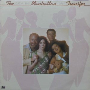 The Manhattan Transfer ‎– Coming Out Atlantic ‎– K 50291