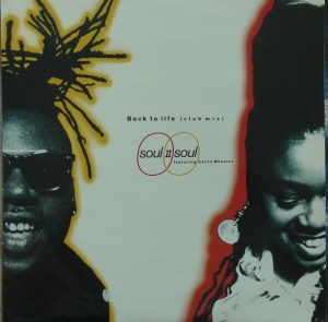 Soul II Soul Featuring Caron Wheeler ‎– Back To Life (Club Mix) 10 Records ‎– TENX 265