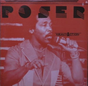 Poser ‎– Heavy Action Straker's Records ‎– GS2274