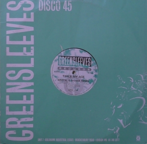 Krystal & Shabba Ranks ‎– Twice My Age Greensleeves Records ‎– GRED 258