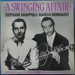 Stephane Grappelli Django Reinhardt A Swinging Affair MONO MOR 530 Jazz Vinyl Records