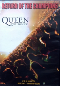 Queen + Paul Rodgers ‎– Return Of The Champions  Parlophone ‎– 00946 3 36985 9 8