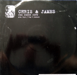 Chris & James ‎– Fox Force Five (The Remixes) Stress Records ‎– 12 STRX 61