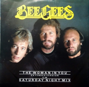 Bee Gees ‎– The Woman In You (Extended Version) / Saturday Night Mix RSO ‎– RSOX 94