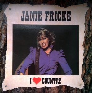 Janie Fricke ‎– I Love Country CBS ‎– 54948