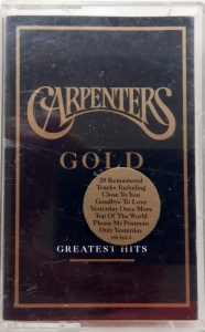 Carpenters ‎– Carpenters Gold (Greatest Hits) A&M Records ‎– 490 865-4
