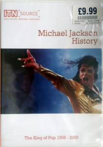 Michael Jackson - History - King Of Pop 1958-2009  ITNDVD001