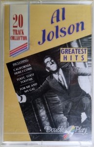 Al Jolson ‎– Greatest Hits Double Play ‎– MC GRF081