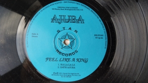 Ajuba – Feel Like A King Star Records ‎– SRLP4145 Bhangra