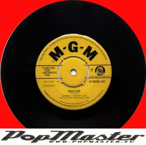 Conway Twitty With Instrumental Accompaniment Rosaleena 45-MGM-1047