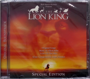 Elton John, Tim Rice, Hans Zimmer – The Lion King (Original Motion Picture Soundtrack) (Special Edition) Walt Disney Records – 0946 353221 2 5