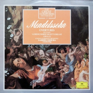 the great composers and their music 11 MENDELSSOHN overtures , płyta winylowa