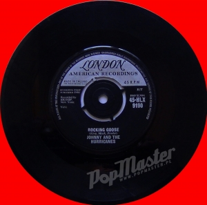 Johnny And The Hurricanes Rocking Goose  45-HLX-9190  MSCE4564-1C