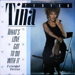 TINA TURNER WHAT'S LOVE GOT TO DO WITH IT 12CL 334  PROMO COPY