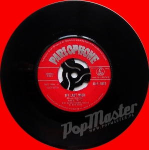 Adam Faith  My Last Wish  45-R 4807