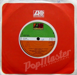 "England Dan & John Ford Coley  I'd Really Love To See You Tonight K 10810 7"" 45 RPM Single"