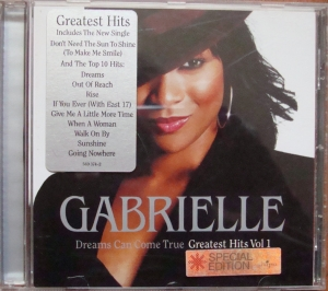 Gabrielle ‎– Dreams Can Come True - Greatest Hits Vol 1 589 374-2 Hip Hop,RnB/Swing  Płyty CD