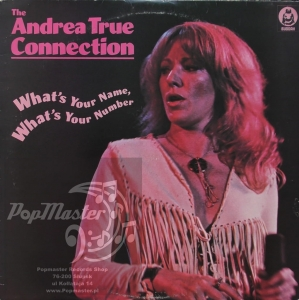 The Andrea True Connection   What's Your Name, What's Your Number  Buddah Records ‎– BDLP 4054  Vinyl, LP, Album