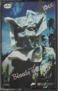 10cc ‎– Bloody Tourists   Mercury ‎– 7231 303    Cassette, Album
