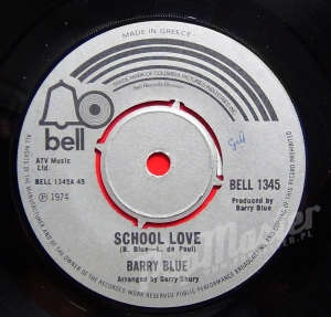 Barry Blue School Love Bell 1345 Greece pressing
