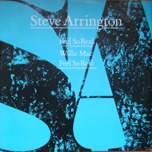 "Steve Arrington ‎– Feel So Real,12"" A 9576(T)   Funk Soul Synth-pop Winyle"