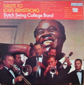 Dutch Swing College Band  ‎– Salute To Louis Armstrong   6870-513   Jazz   Winyle