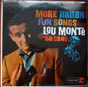 Lou Monte ‎– More Italian Fun Songs From Lou Monte & The Gang R9-6099 Folia Winyle