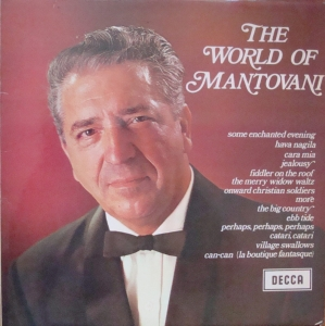 Mantovani ‎– The World Of Mantovani  SPA 1 Vinyl