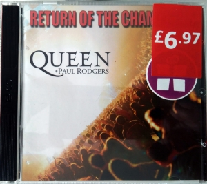 Queen + Paul Rodgers ‎– Return Of The Champions  Parlophone ‎– 00946 3 36979 2 8
