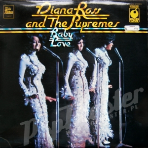 DIANA ROSS AND THE SUPREMES BABY LOVE 1st pressing SPR 90001 STEREO A1/B1