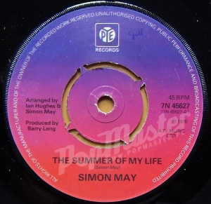 Simon May The Summer Of My Life  7N 45627